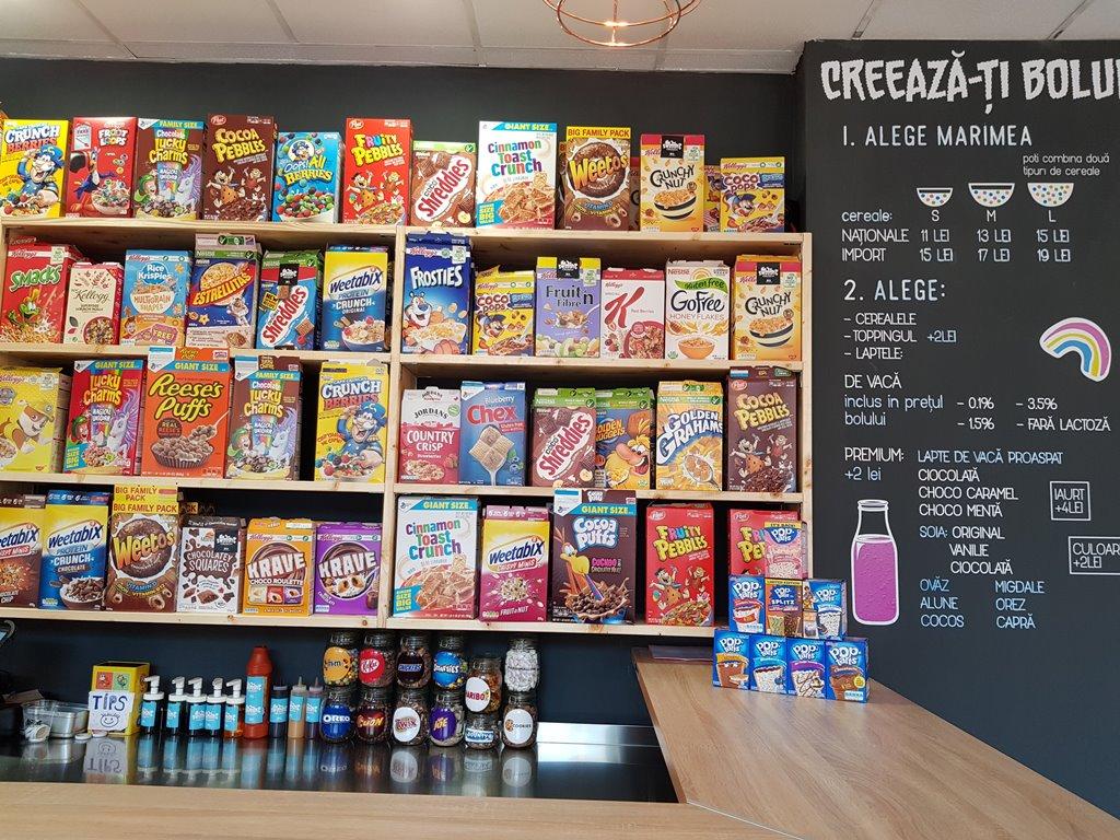 raiul cerealelor cu lapte